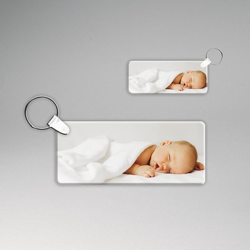 Porte-clés personnalisé Porte-clés rectangulaire