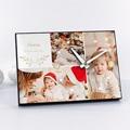 Horloge Personnalisée Photo Photo Collage Noël, 3 photos, 20 x 14 x 2 cm