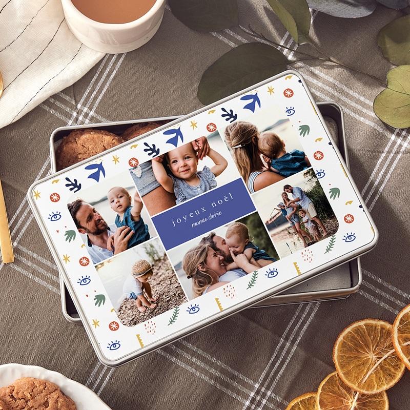 Boîte Personnalisée Photo A la manière du Fauvisme, 6 Fotos, 19,4 x 12,4 x 5 cm