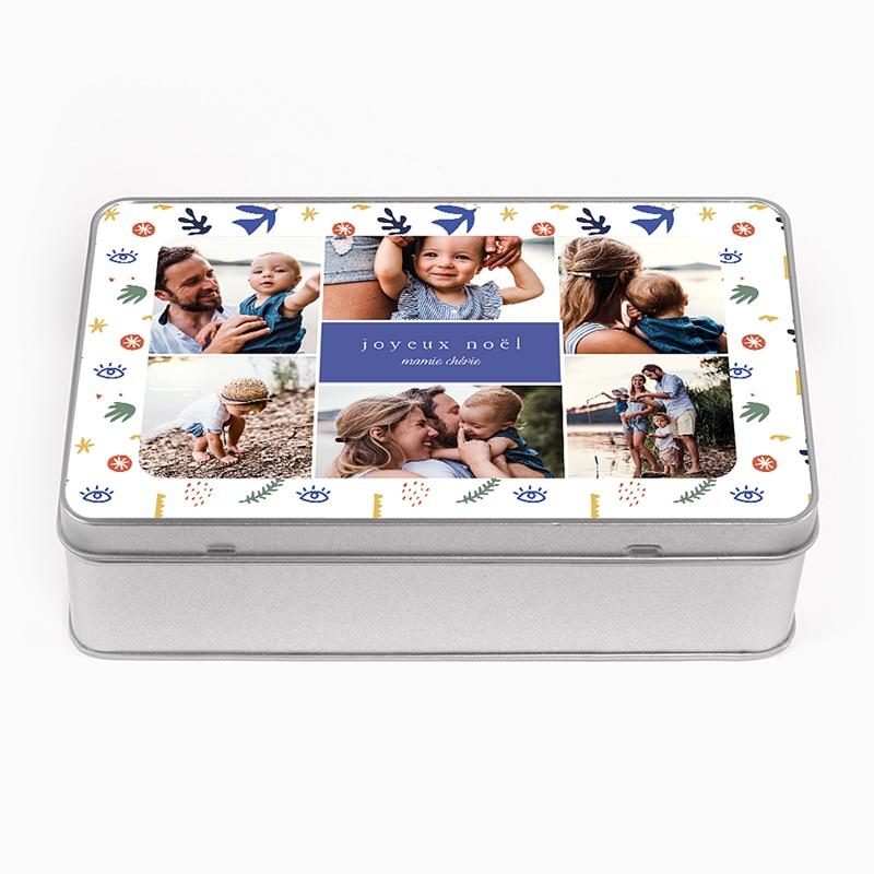 Boîte Personnalisée Photo A la manière du Fauvisme, 6 Fotos, 19,4 x 12,4 x 5 cm pas cher