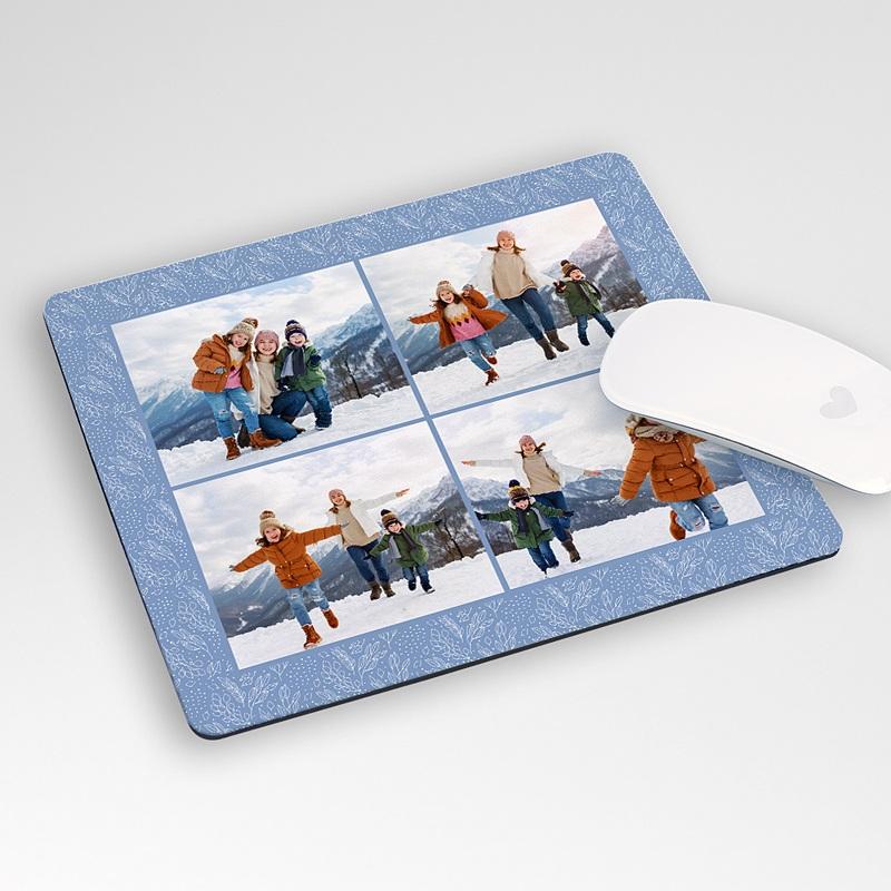 Tous les tapis de souris Gelée Hivernale, 4 photos, 19,6 cm x 23 cm