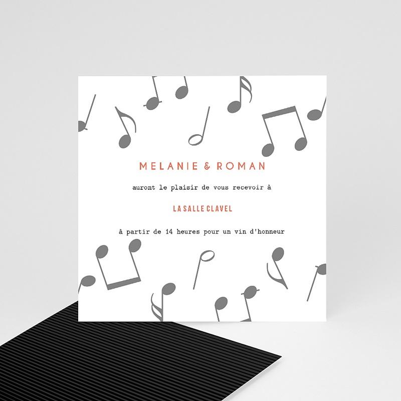 Carte Invitation Mariage Disque Vinyl, Cocktail & Party