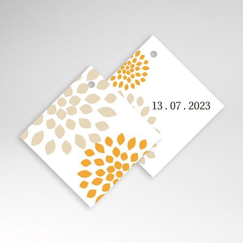 Etiquette Cadeau Mariage Ambiance Provençale, 4,5 x 4,5 cm pas cher