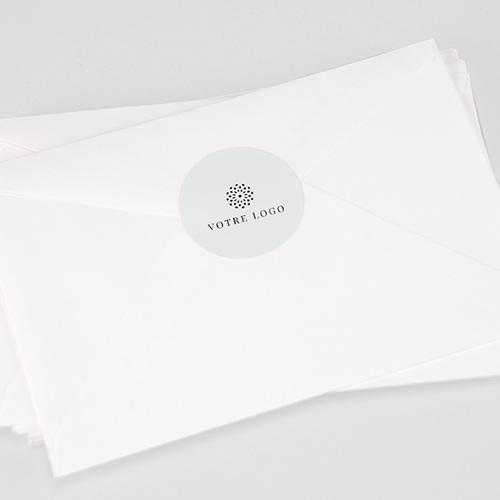 Etiquette Noël 100% Création, Sticker