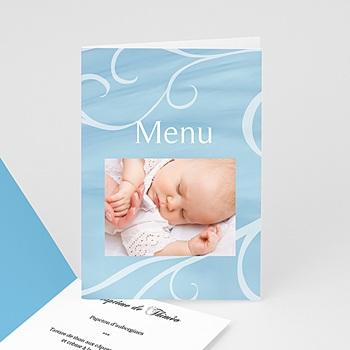 Menu de Baptême - Ma carte bleue - 3