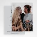 Faire-Part Mariage Photo Tampon Photo, 16,7 x 12 gratuit