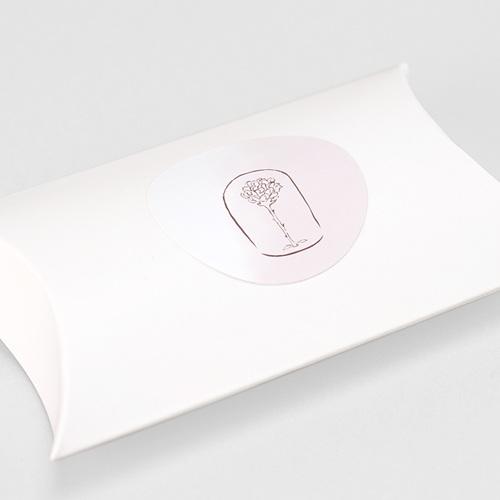 Etiquette Autocollante Naissance La plus jolie des roses, Sticker enveloppes gratuit