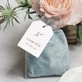 Etiquette Cadeau Naissance Brin de bonheur, rose tendresse, 6 x 4 gratuit