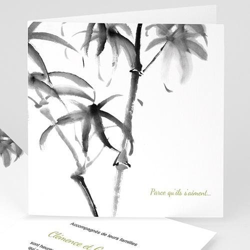 Faire-Part Mariage Personnalisés - Aquarelle Chinoise 9145