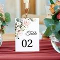 Marque Table Mariage Bouquet Romantique Kraft, Lot de 3 gratuit