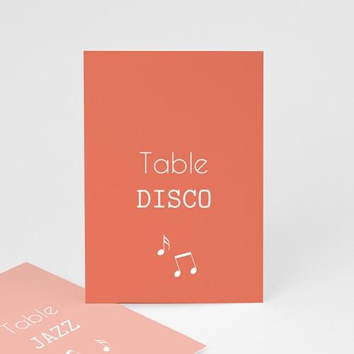 Marque Table Mariage Disque Vinyl, Lot de 3 repères de Table