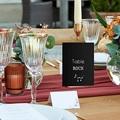 Marque Table Mariage Disque Vinyl, Lot de 3 repères de Table pas cher