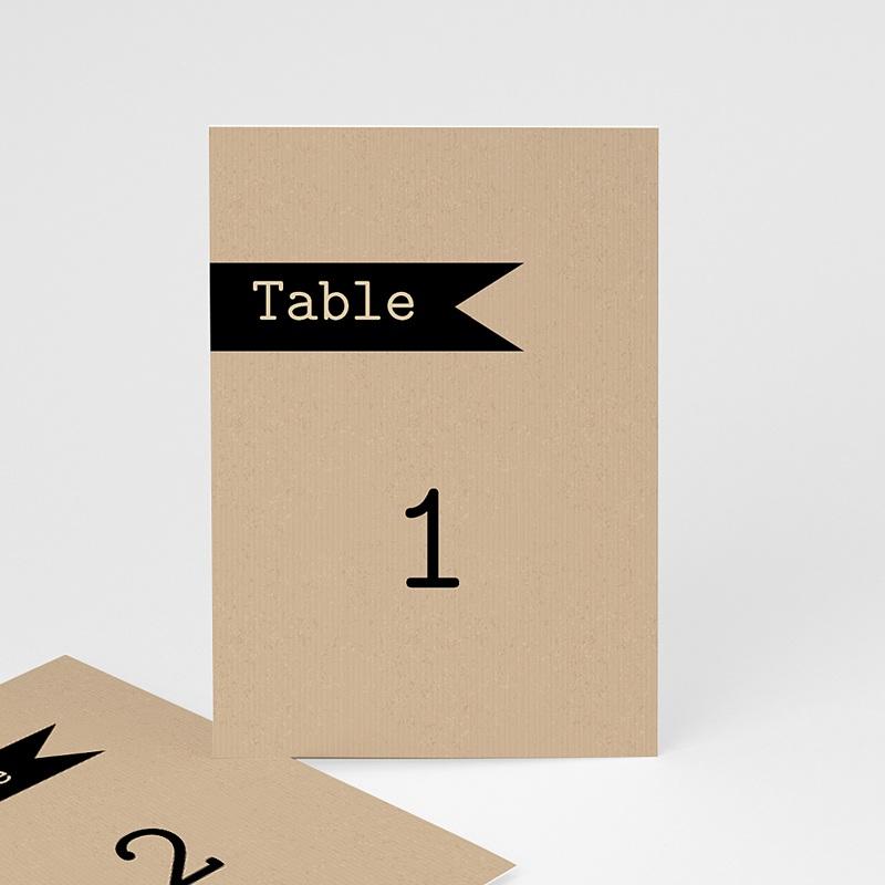 Marque Table Mariage Notre histoire, Lot de 3 repères de table