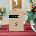 Marque Table Mariage Notre histoire, Lot de 3 repères de table gratuit
