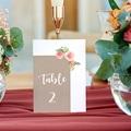 Marque Table Mariage Diadème Floral, Lot de 3 repères gratuit