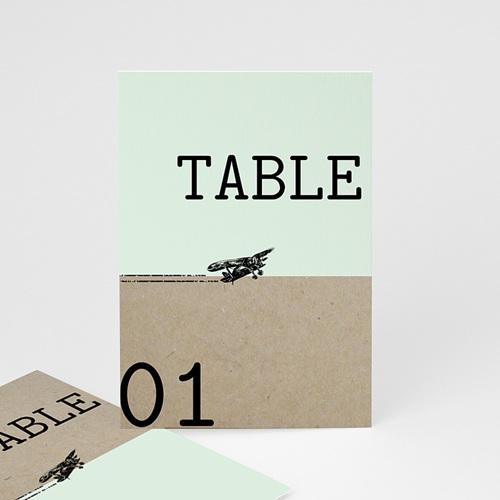 Marque Table Mariage Time to Love, Lot de 3 repères