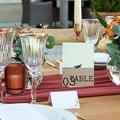 Marque Table Mariage Time to Love, Lot de 3 repères pas cher