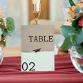 Marque Table Mariage Time to Love, Lot de 3 repères gratuit