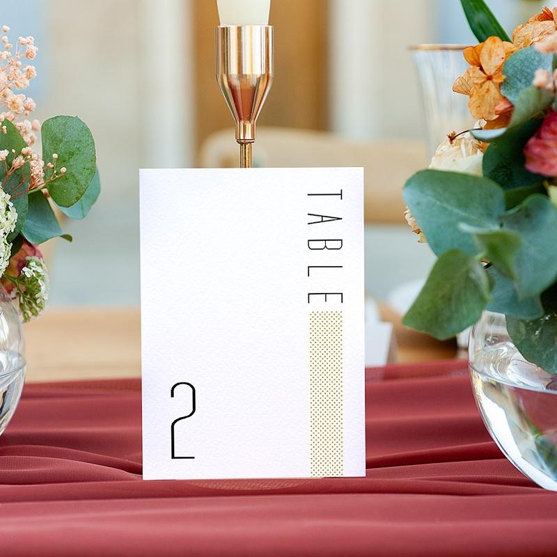 Marque Table Mariage 2CV Citroen, Lot de 3 repères gratuit