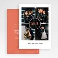 Carte Remerciement Mariage Disque Vinyl, 4 photos, Noir Corail gratuit