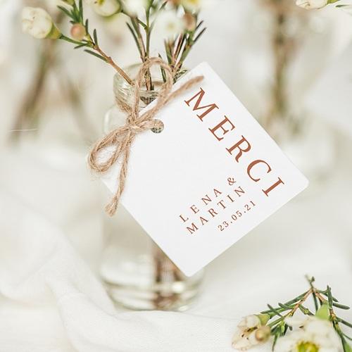 Etiquette Cadeau Mariage Invitation au Voyage, Couleurs Sahara, Cadeau