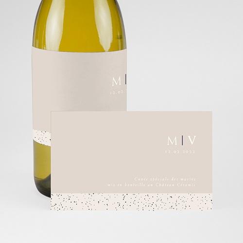 Etiquette Bouteille Champagne Céramique, étiquette de bouteille pas cher