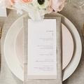 Menu Mariage céramique, menu gratuit