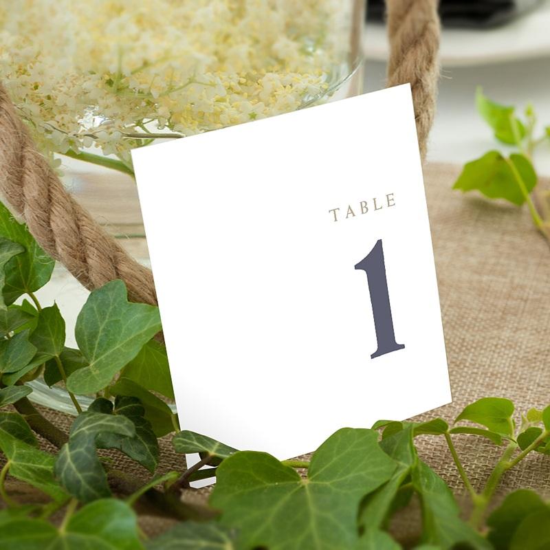 Marque Table Mariage céramique