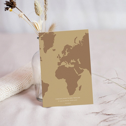 Carton Réponse Mariage Wedding Boarding Pass, RSVP, Dîner pas cher