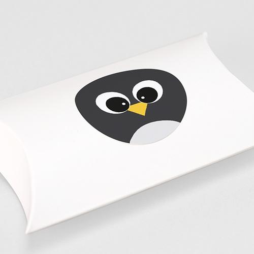 Etiquette Autocollante Naissance Pingouin et Compagnie, Sticker rond gratuit