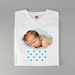 Tee-Shirt avec photo La tête dans les nuages