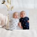 Carte Remerciement Naissance Jumeaux Les 2 font la paire, Photo pas cher