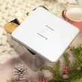 Boîte Personnalisée Photo Modèle vierge, couvercle personnalisable, 20.2 x 20.2 cm pas cher