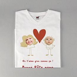 Tee-shirt homme On t'aime !