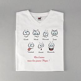 Tee-shirt homme Bonne Humeur