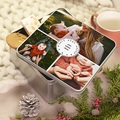 Boîte Personnalisée Photo pour mamie chérie, 20.2 x 20.2 cm pas cher