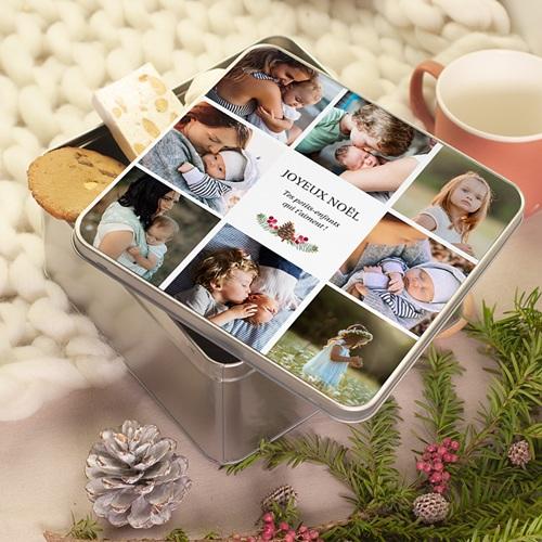 Boîte Personnalisée Photo cadeau personnalisé grand parent, 20.2 x 20.2 cm pas cher