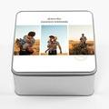 Boîte Personnalisée Photo Souvenirs de vacances, couvercle personnalisable, 20.2 x 20.2 cm pas cher