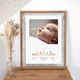 Papeterie - Bébé Oie, Photoportrait, 30 x 40 cm - 0