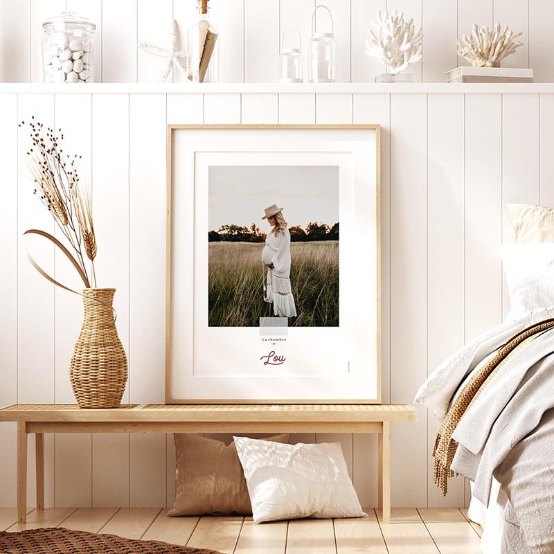 Affiches Mille Fleurs, Poster chambre, 30 x 40 cm pas cher