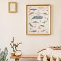 Affiches Le monde sous-marin, Déco Chambre, 30 X 40 cm