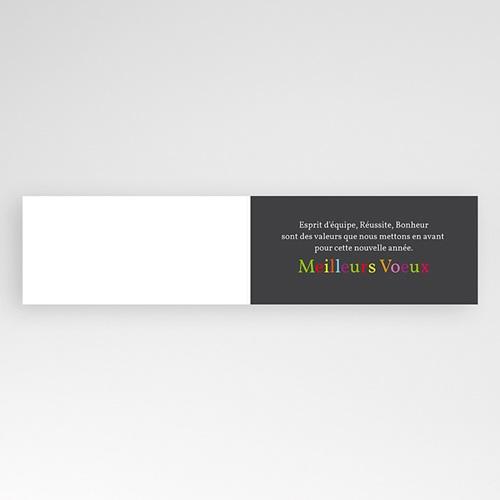 Carte de Voeux Professionnelle - En couleur 9287 thumb