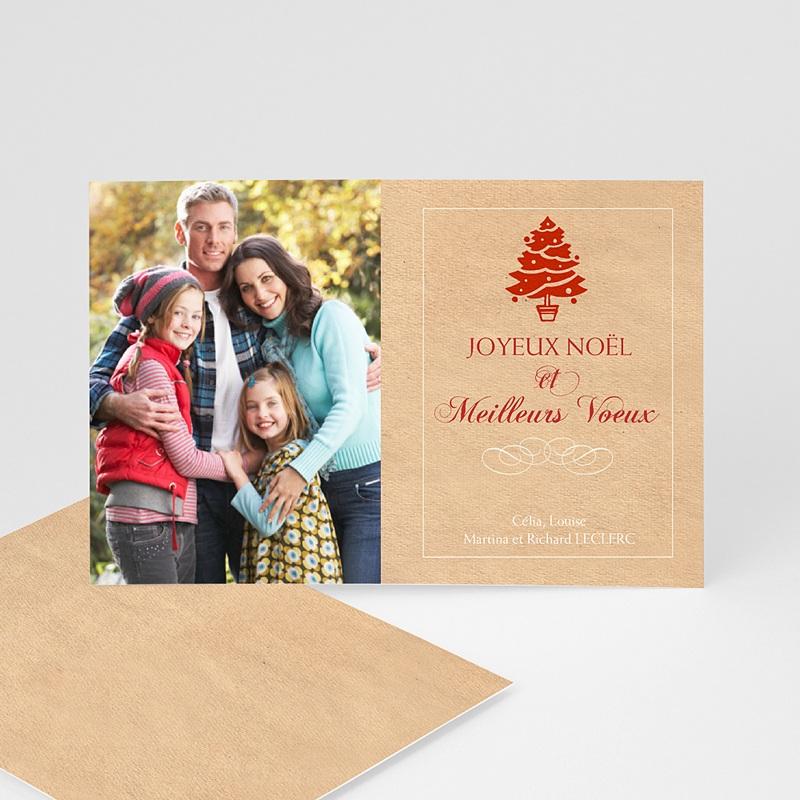 Carte de Voeux Joyeux Noël & Meilleurs Voeux Arbre à bijoux - 2