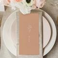 Menu Mariage Parfaite Harmonie, Ton pastel, Repas gratuit