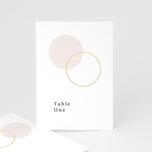Marque Table Mariage L'union parfaite, Repère de Table, lot de 3