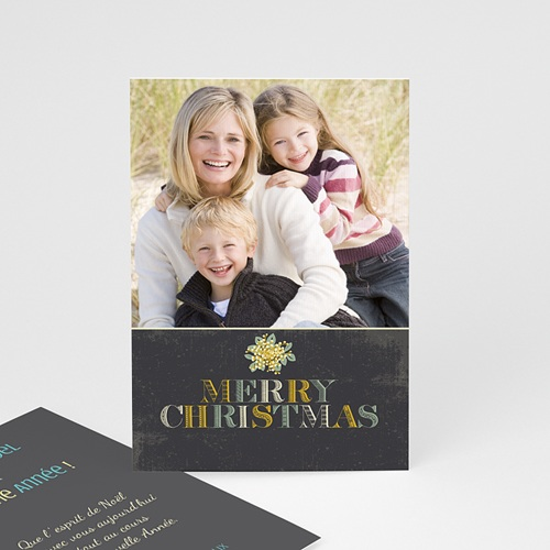 Carte de Voeux 2018 - Merry Christmas 9387