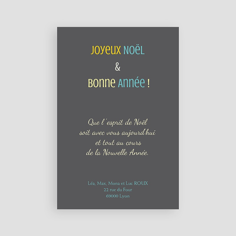 Carte de Voeux 2019 - Merry Christmas 9388 thumb
