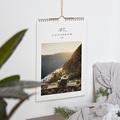 Calendrier Mural Naturel Délicatesse, une photo par mois, A4
