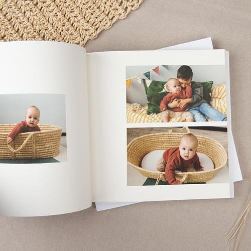 Livre photo Carré Naturel Le naturel, carré, 20 x 20 cm