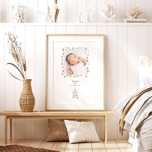 Affiches Mobile Désert en Folie, Poster Chambre d'Enfant, 30 x 40 cm pas cher